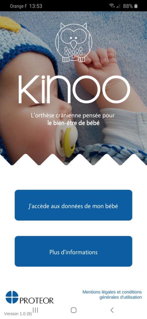 application Kinoo